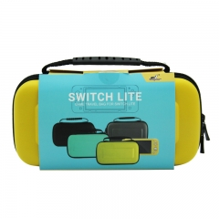 Nintendo Switch Lite EVA carry bag Yellow color