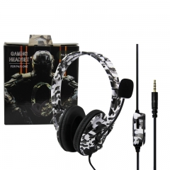 PS4/XBOX-ONE Gaming headset-Camouflage white