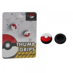 Pokemon Thumb Grips Analog Caps Silicone Rubber For Switch Pokemon Ball