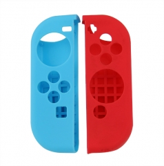 Nintendo Switch Joy Controller Silicon Case Red+blue