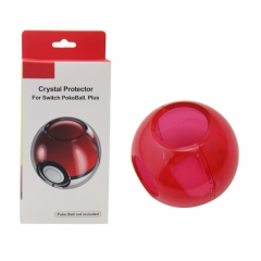 Nintendo switch pokeball Crystal Case -Transparent Red