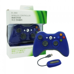 XBOX 360/PC 2.4G wireless controller neutral Packing /Blue