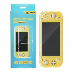 Crystal protective case with stand for Nintendo switch Lite