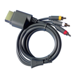 XBOX 360 AV cable PP BAG