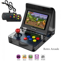 New retro mini arcade Retort Arcade handheld game console joystick dual handle built-in 3000 games