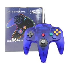 N64 Joypad crystal blue