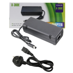 XBOX 360 E AC adapter (UK Plug)