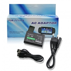 AC Adapter with USB cable for PS Vita (EU Plug)