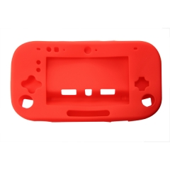 WII U Silicon case  red color