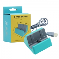 Nintendo switch Lite Charger Dock Turquoise Color