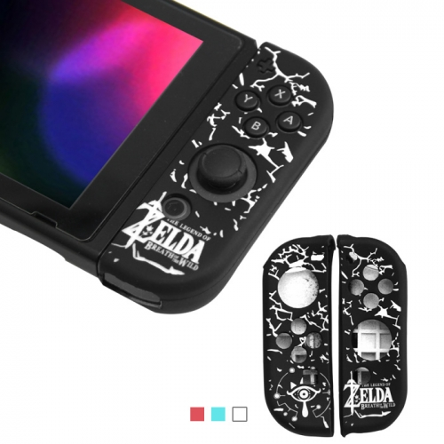 Nintendo Switch Zelda Joy Controller Silicone Case-Black+White
