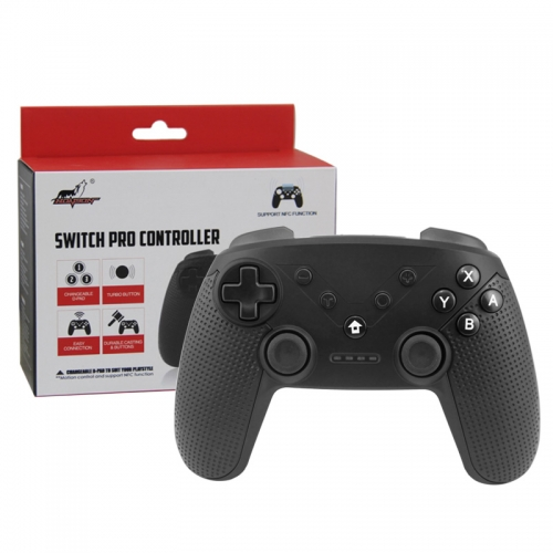 Nintendo SWITCH/PC/PS3/Android  Bluetooth Controller (Black Color)