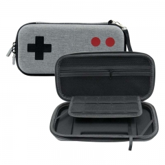 Nintendo Switch Gray Arcade pattern Carry bag with Wristband