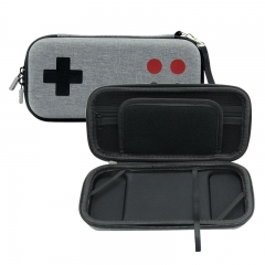 Nintendo Switch Lite Gray Arcade pattern Handbag with Wristband