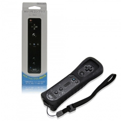 2 in1 MotionPlus Remote for Wii -Black