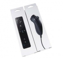 Wii Remote and Nunchuck Neutral Packaging