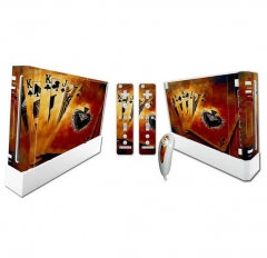 Wii Console Protective Sticker Cover Skin Controller Skin Sticker 8