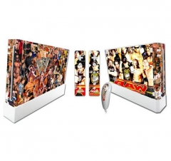 Wii Console Protective Sticker Cover Skin Controller Skin Sticker 7