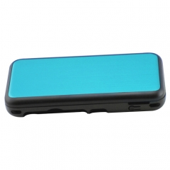 New 2DS XL Console aluminum Case-Light Blue