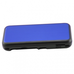 New 2DS XL Console aluminum Case-Blue