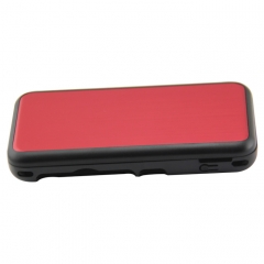 New 2DS XL Console aluminum Case-Red
