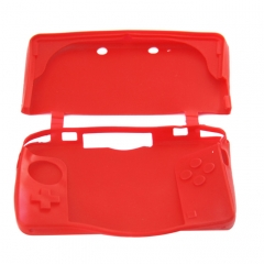 Silicone Sleeve Case for Nintendo 3DS- Red