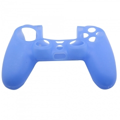 Silicone Skin Case for PS4 Controller- Blue