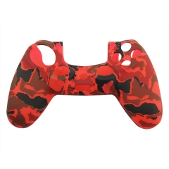 New Silicone Skin Case for PS4 Controller Red