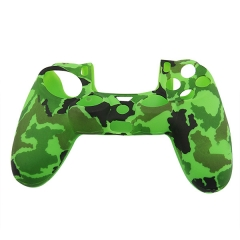 New Silicone Skin Case for PS4 Controller Green