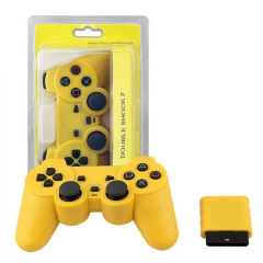 Wireless Controller For PS2 -Yellow