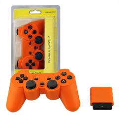 Wireless Controller For PS2 -Orange