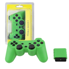 Wireless Controller For PS2 -Green