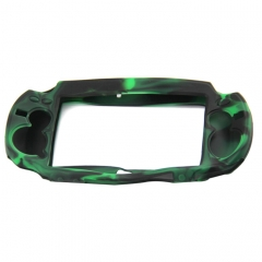 PS Vita Silicone Case camouflage green+black