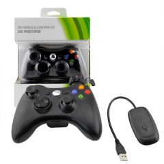 XBOX 360/PC 2.4G wireless controller neutral Packing/Black