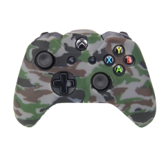 XBOX One Controller New camouflage Silicone Case -camouflage Brown+gray
