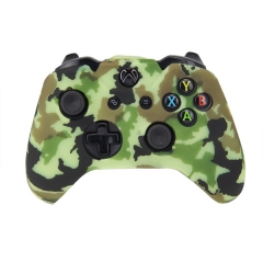 XBOX One Controller New camouflage Silicone Case -camouflage light green