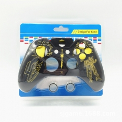 XBOX ONE transformers silicone cases-yellow