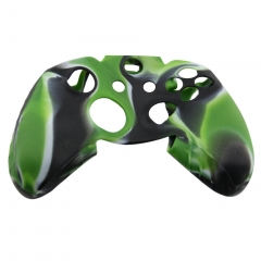 Silicone Case for XBOX One Controller -black+green