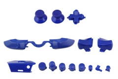 Full Buttons 9 Colors /  1 Set LB RB Bumpers Triggers Buttons DPAD LT RT For Xbox One Elite Controller - Blue