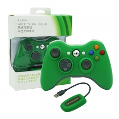 XBOX 360/PC 2.4G wireless controller neutral Packing/Green