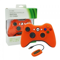XBOX 360/PC 2.4G wireless controller neutral Packing/Orange