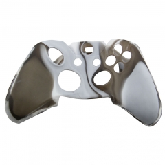 Silicone Case for XBOX One Controller -white+grey