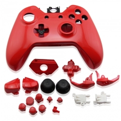Replacement Controller Case Shell for Xbox One- Red