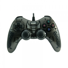 Wired Game controller PC USB Joypad (Black)