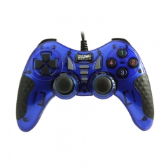 Wired Game controller PC USB Joypad (Blue)