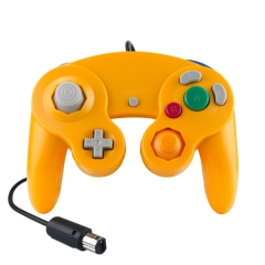 Wired Game Controller for NGC( light Orange)