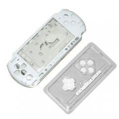 Housing Faceplate Case Cover for PSP 3000 Console  white color