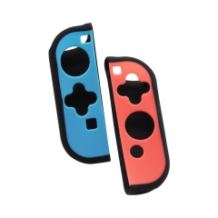 Joy-con Protective Skin Cover Soft Silicone Case For Nintendo Switch--black