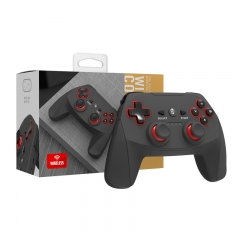 PS3/PC  2in1 2.4G Wireless Controller black color