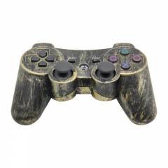 PS3 Wireless Controller black + gold